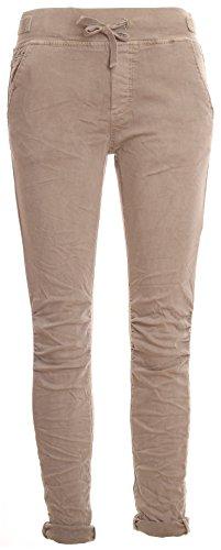 Basic.de Cotton Stretch-Hose im Jogging-Pant Style Melly & CO 8139 Schlamm XL
