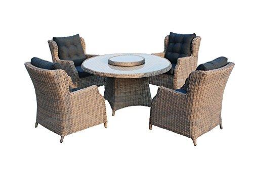 Gartenmöbel-Set Chesterfield Polyrattan