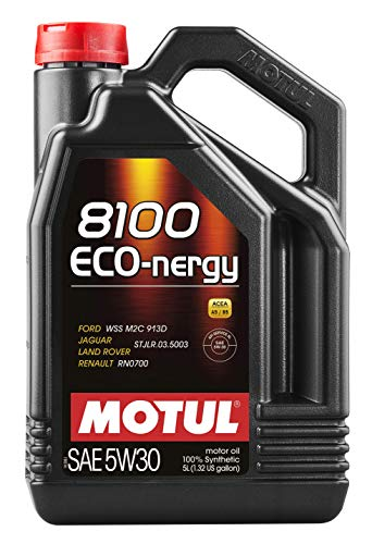 Motul MTL102898 102898 8100 Eco-nergy 5W-30 100% sintético, 5 litros, 5 litros