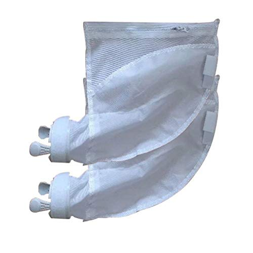 Affordable (4 Pack) Swimming Pool Bag Nylon Mesh Pool Cleaner Bags, Compatible Zipper Replacement Ba...