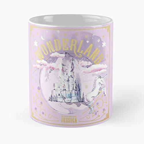 Jessica Wonderland Wonder Land Gift Coffee/tea Ceramic Mug Father Day