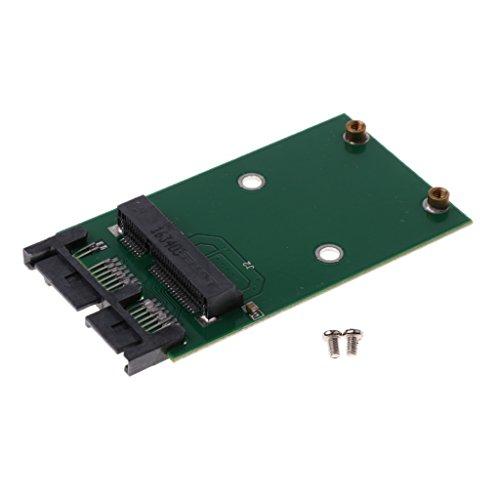 Baoblaze Mini PCI-e mSATA Solid-State-Laufwerk SSD auf 1,8Zoll Micro-SATA Adapter Konverterkarte Größe: 69 * 37 * 5 mm