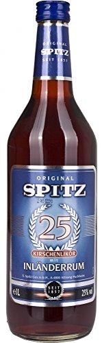 Spitz Kirsch Licor con Inländer Ron - 1000 ml