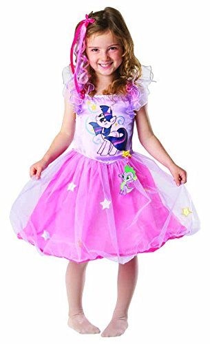 Rubie's-déguisement officiel - My Little Pony - Déguisement Costume Twilight Sparkling - Taille 5-6 Ans- I-881842M