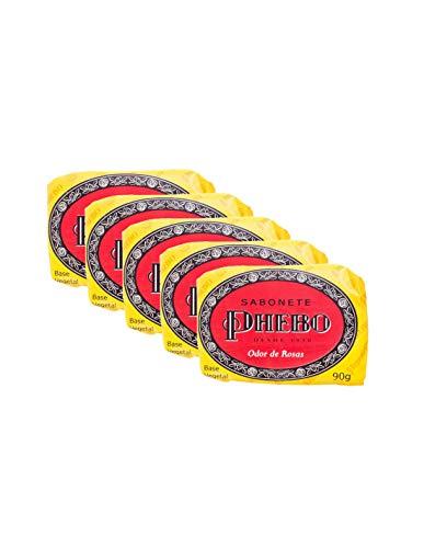 Pack Sabonetes Phebo Odor de Rosas 5x1-90g