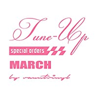 Tune-up mix MARCH マーチ ステッカー ピンク 桃