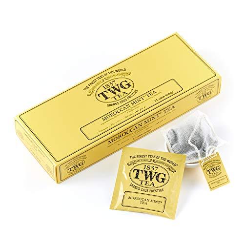 TWG Tea  Moroccan Mint Tea(コットンティーバッグ, 2.5g×15個入り)