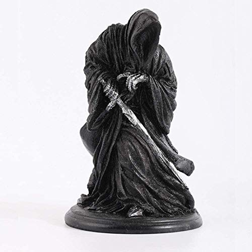 LJXGZY Modelo de Juego clasico Ringwraith El Senor de los Anillos Dark Knight Witch King Black Riders Estatua Coleccion Decoracion Modelo Regalo de cumpleanos Estatua