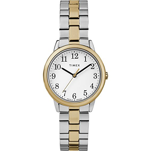 Timex Women's TW2R58800 Easy Reader 31mm Two-Tone Stainless Steel Expansion Band Watch