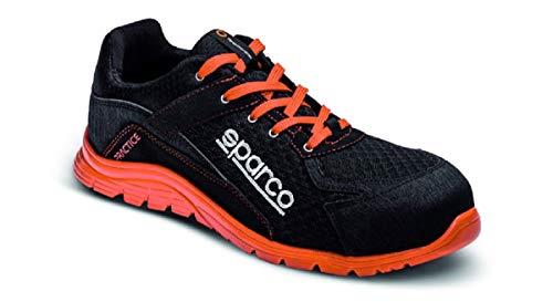 Sparco Zapatillas Practice Negro/Rojo Talla 45 - UK 10.5