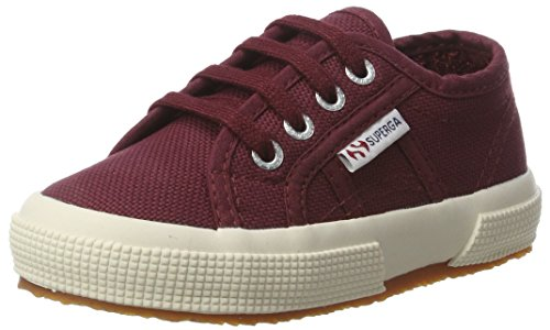Superga Unisex-Kinder 2750 Jcot Classic Low-Top, Rot (Dk Bordeaux), 22