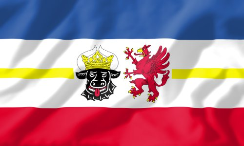 Mr. Deko Landesflagge Mecklenburg-Vorpommern Fahne Flagge 150x90 Wetterfest