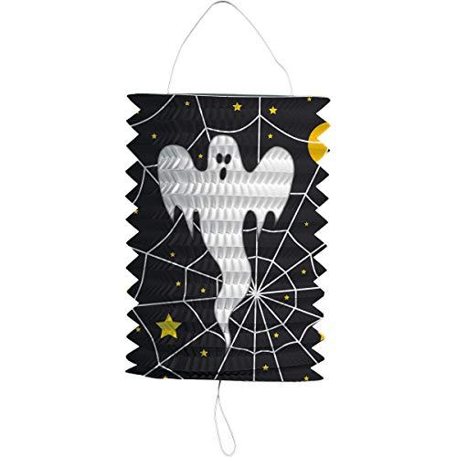 Preis am Stiel 4 x Partylaterne Gespenst | Halloween | Laterne | Grusel | Geist