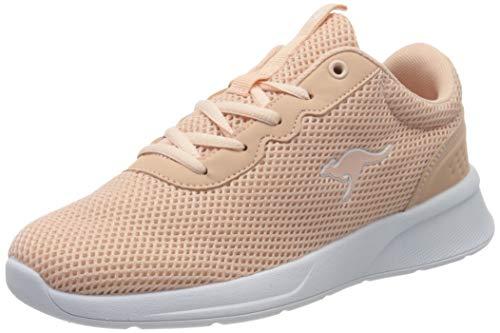 KangaROOS Damen KF-A Deal Sneaker, Rot (Dusty Rose 6058), 41 EU