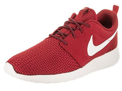 Nike 844687-605: Men's Roshe One SE Gym Red/Sail Team Red Running Sneakers (13 D(M) US Men, Gym Red/Sail Team Red)