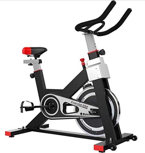 MJ-Sports Manuell Einstellbarer Widerstand für Fahrradtrainer 6 kg Schwungrad mit mobiler App Simuliert Live-Fahrten Cardio-Training mit Tablet-Halter