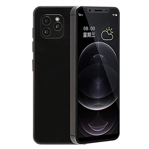 S11S Dual SIM Full Netcom Smartphone de Color Negro, Teléfono Inteligente Multifuncional para Personas Mayores, 2200 mAh Batería Incorporada Teléfono Móvil, Regalo para Niños(2+16GB)