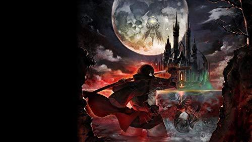 XHJY Videogioco Bloodstained Curse of The Moon per Adulti, Giochi per Famiglie, Giocattoli Educativi, Giochi Antistress per Bambini, Sfide Puzzle-1000 Pezzi(75 x 50 cm)