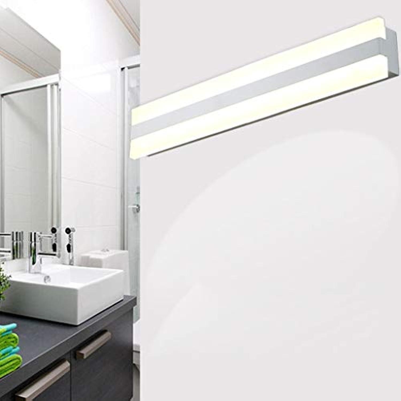WENYAO Die erntezeit einfache led Spiegel frontleuchte acryl Bad Anti-Fog led Spiegel Schrank Lichter Wandleuchte (Farbe  natürliches licht-52 cm)