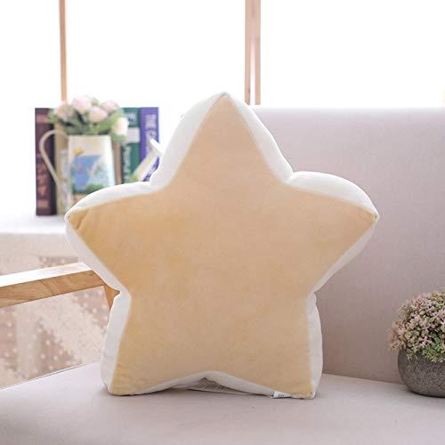 N / A Juguetes de Peluche Star Throw Pillows Soft Hug Pillow Regalos de cumpleaños Niños Ropa de Cama Decoración Chica 45CM