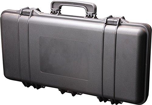 SRC Foam Padded Plastic Airsoft Rifle Gun Case