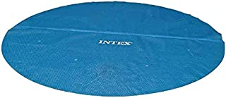 Intex Recreation 29025E N/AA Intex Solar Cover for 18ft Diameter Easy Set and Frame Pools, 18 ft, Blue