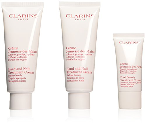 Clarins Handcreme 2 X 100 ml Duplo + Fußcreme 30 ml