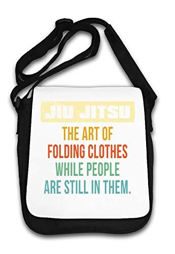 Jiu Jitsu Art of Folding Clothes While People Are Bolsa de Hombro
