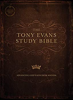 CSB Tony Evans Study Bible: Study Notes and Commentary, Articles, Videos, Easy-To-Read Font by [Tony Evans, CSB Bibles by Holman]