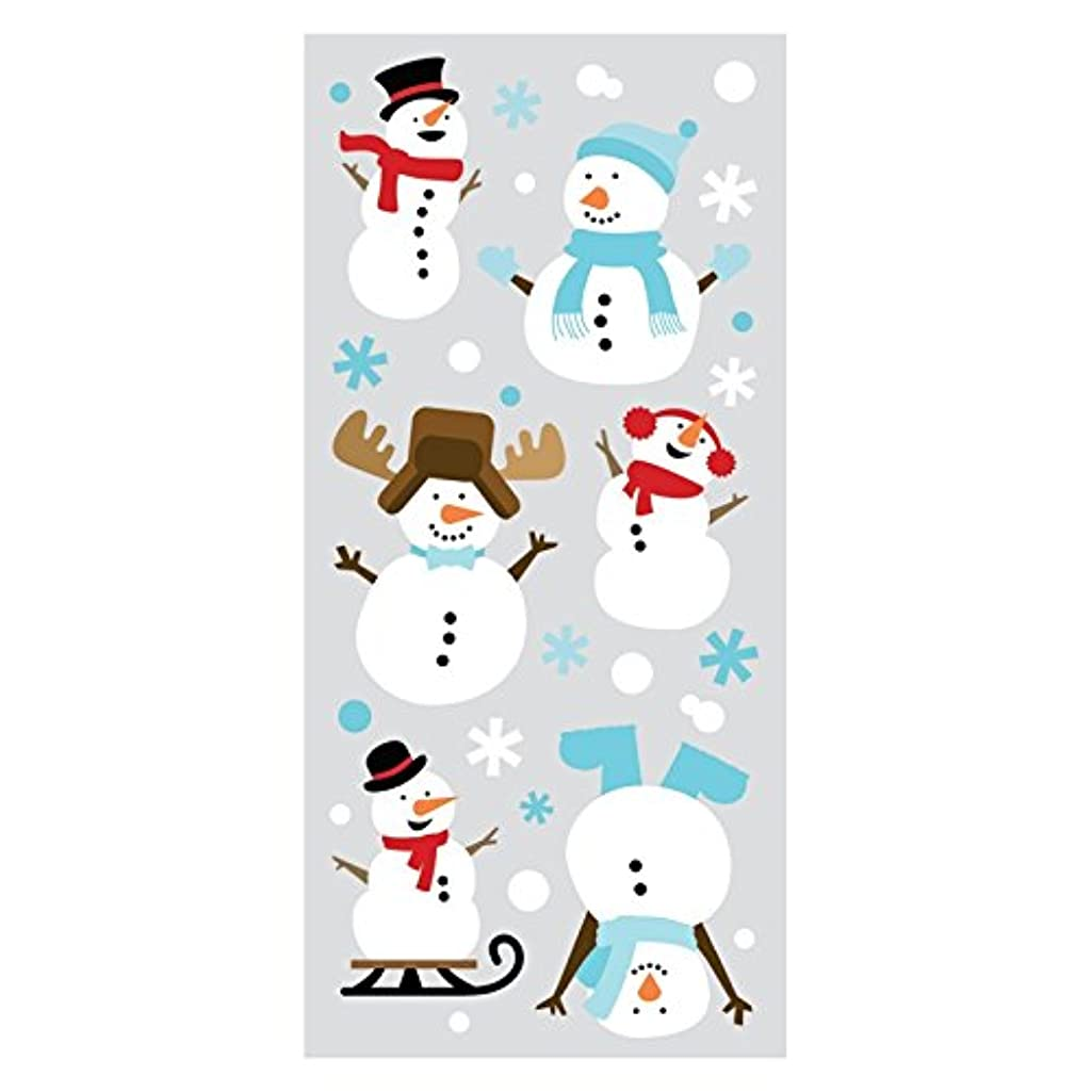 Paper House Productions STP-0042E Snowman Puffy Stickers (3-Pack)