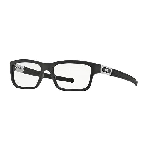 f566cde9ff Oakley Marshal OX8034-0151 Eyeglasses Satin Black Clear Demo 51 17