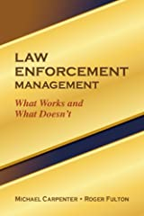 Law Enforcement Management Kindle Edition