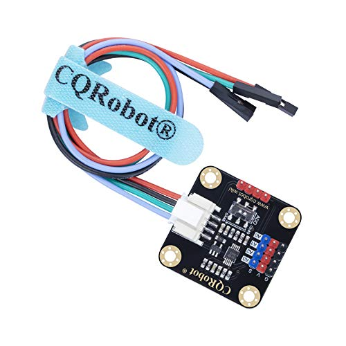 CQRobot Ocean: ADS1115 16-bit ADC Module Compatible with Raspberry Pi/Arduino Motherboard. I2C Interface, Through The ADC Module, The Raspberry Pi Board Can Easily Apply Arduino Series Sensors.
