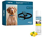 PetTec Trainingshilfe inkl. Halsband & Spray für Hunde & Jagdhunde mit Fernbedienung | Akkubetrieb |...