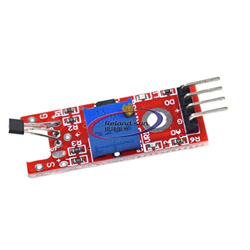 Reland Sun 5 x KY-024 Lineares magnetisches Hall-Effekt-Sensor-Modul