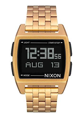 Nixon Reloj Casual de Cuarzo 'Base' para Hombre de Acero Inoxidable