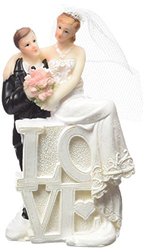 NEU Deko-Figur Hochzeitspaar Mann & Frau Love