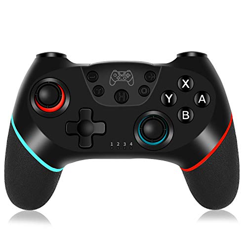 Wireless Switch Pro Controller for Nintendo Switch, Bluetooth Gamepad Joystick Joypad with Build-in Gyro Axis for Nintendo Switch Console