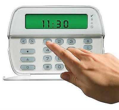 DSC Sistema de Alarma de Seguridad -RFK5501 - Teclado de Icono con Receptor inalámbrico