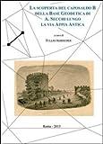 La scoperta del caposaldo B della base geodetica di A. Secchi lungo la via Appia Antica