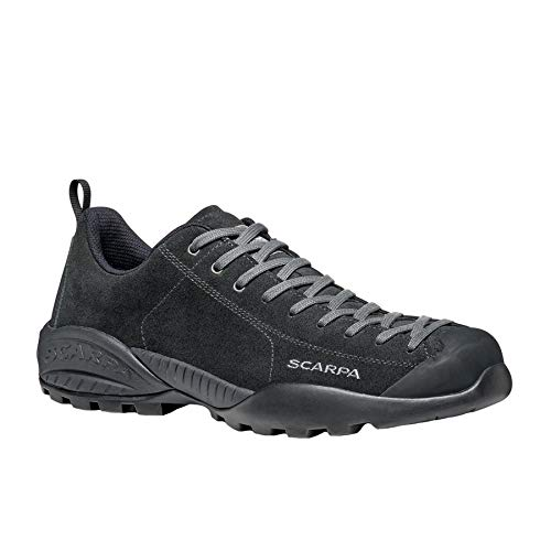 Scarpa Mojito GTX, Zapatillas de Trail Running Unisex Adulto, Black-Black Gore-Tex BM Spider Trek, 44 EU