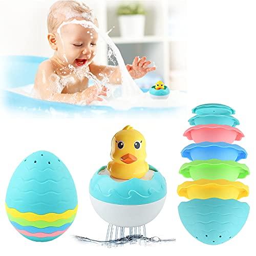 GizmoVine Juego de Juguetes para baño para bebés, Pato de Ducha y...