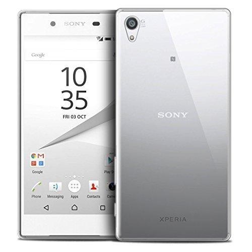 NEW'C Coque Compatible avec Sony Xperia Z5 Mini, Ultra Transparente Silicone en Gel TPU Souple Coque de Protection avec Absorption de Choc et Anti-Scratch