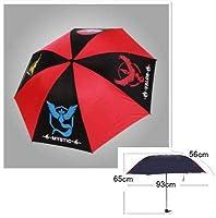 雨具 折りたたみ傘 3つ折り 伝説のポケモン ファイヤー サンダー 大型 おしゃれ 持ち運び 携帯 折り畳み 雨晴れ兼用