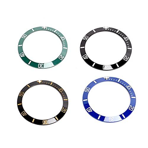 Inserto de bisel de reloj, piezas de reloj de peso ligero Inserto de bisel Diseño original con diferentes colores para relojero y reparador de relojes