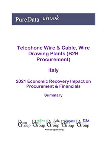 Telephone Wire & Cable, Wire Drawing Plants (B2B Procurement) Italy Summary: 2021...