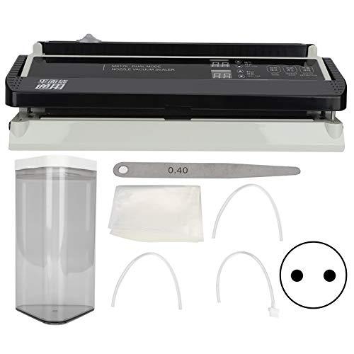 Máquina selladora al vacío eléctrica de 170 W y 8 mm, almacenamiento de alimentos con...