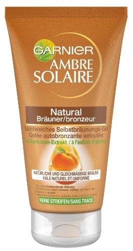 Garnier Ambre Solaire Selbstbräuner Natural Bräuner/Selbstbräunugs-Gel, 1er Pack (1 x 150 ml)
