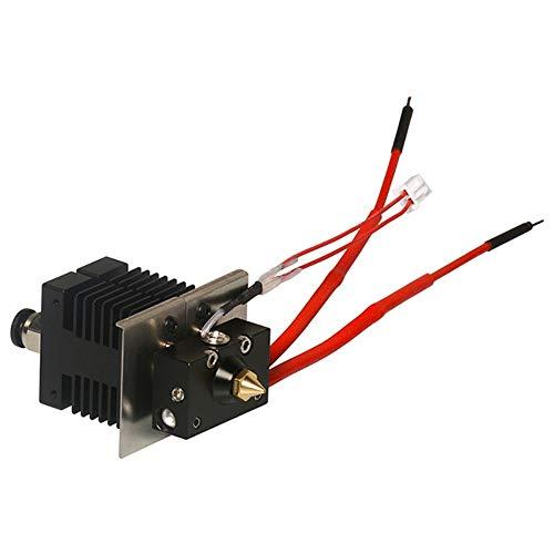 Geeetech 2 in 1 Hotend Kit für Geeetech A10M und A20M 3D-Drucker mit 0,4 mm Düse 1,75 mm Filament Hot 3D-Druckerteile
