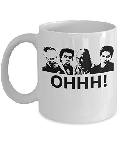 Not Applicable Oh! Zitat - von: Trinkets & Novelty - TV-Show inspiriert Sopranos Merchandise 11-Unzen-Kultklassiker Tony James Gandolfini Mafia Paulie Kaffee-Teetasse Sopranos-Fans